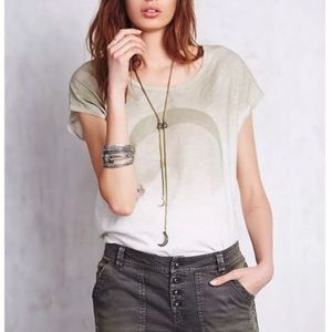 "Free People ""Thunder Moon"" Tee"